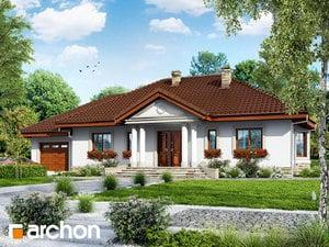 Projekt domu ARCHON+ Dom medzi gaurami ver.2