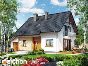 Projekt domu ARCHON+ Dom v zelenci (GT)