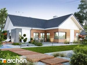 Projekt domu ARCHON+ Dom v galách (G)
