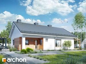 Projekt domu ARCHON+ Dom ori cédri