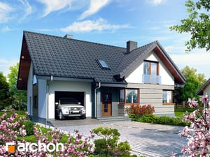 Projekt domu ARCHON+ Dom medzi lopatkovcami ver.2