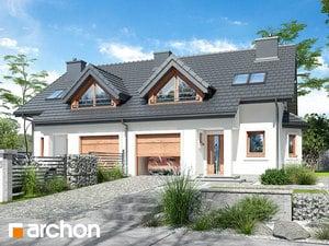 Projekt domu ARCHON+ Dom v plamienkoch 10 ver.2