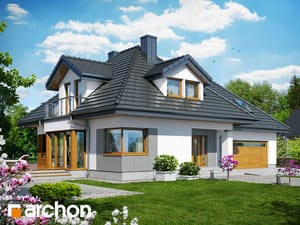 Projekt domu ARCHON+ Dom medzi černuškou 2 (G2) ver.2