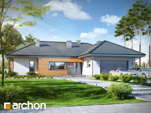 Projekt domu ARCHON+ Dom medzi isméniami 2 (G2)