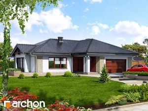 Projekt domu ARCHON+ Dom medzi bergéniami ver.2
