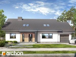 Projekt domu ARCHON+ Dom pod jabloňami 14 (G)