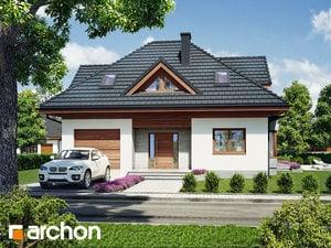 Projekt domu ARCHON+ Dom medzi ďatelinou 3 ver.2