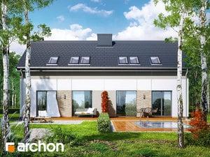 Projekt domu ARCHON+ Dom v arkádiách (R2)