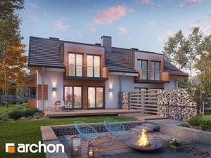 Projekt domu ARCHON+ Dom v plamienkoch 8 ver.3