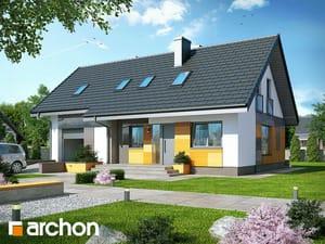 Projekt domu ARCHON+ Dom v nátržníkoch ver.2