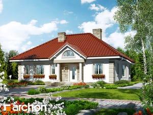 Projekt domu ARCHON+ Dom medzi olivami ver.2