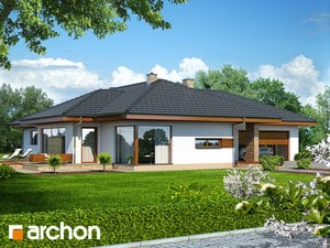 Projekt domu ARCHON+ Dom v amarante ver.2