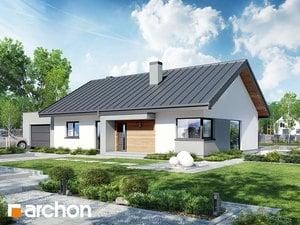 Projekt domu ARCHON+ Dom pod jarabinou 8 (GN)