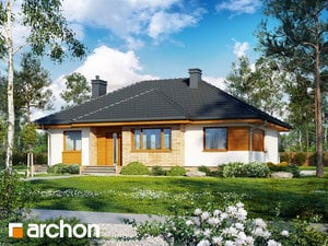 Projekt domu ARCHON+ Dom v akébii (W)