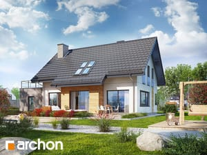 Projekt domu ARCHON+ Dom medzi mätou