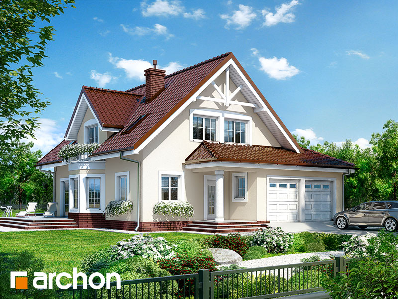 Dom v očianke (G2) ver.2 - Vizualizácia 1