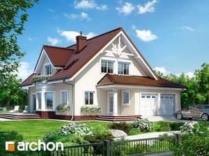 Projekt domu ARCHON+ Dom v očianke (G2) ver.2