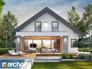Projekt domu ARCHON+ Dom v peperómiách 3 (G)