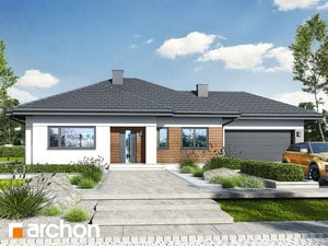 Projekt domu ARCHON+ Dom v mliečivcoch 3 (G2)