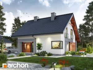 Projekt domu ARCHON+ Dom v malinčí