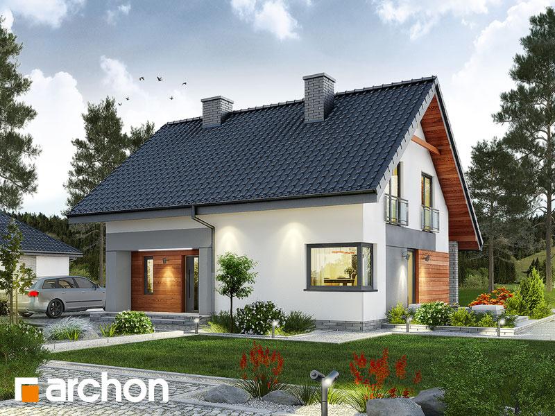 Dom v malinčí   - Vizualizácia 1