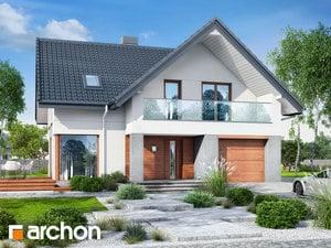 Projekt domu ARCHON+ Dom v heucherách 10