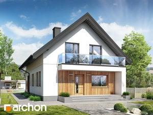 Projekt domu ARCHON+ Dom medzi poniklecmi 6