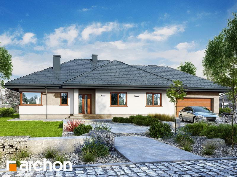 Dom pod rozkvitnutou jabloňou 3 (G2) - Vizualizácia 1