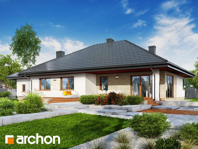 Dom pod rozkvitnutou jabloňou 3 (G2) - Vizualizácia 2