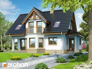 Projekt domu ARCHON+ Dom uprostred brusníc ver.2