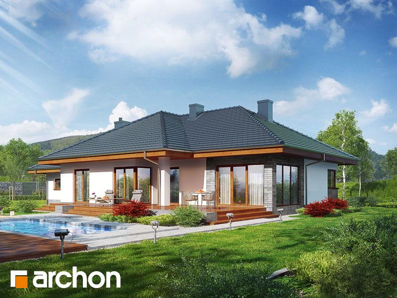 Dom pod rozkvitnutou jabloňou  (G2) - Vizualizácia 1