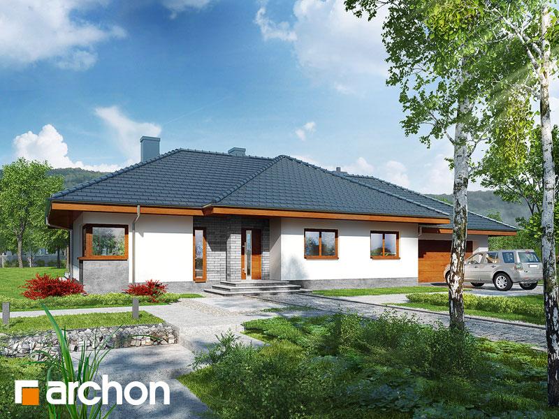 Dom pod rozkvitnutou jabloňou  (G2) - Vizualizácia 2
