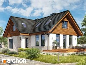 Projekt domu ARCHON+ Dom uprostred manga ver.3