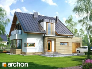 Projekt domu ARCHON+ Dom v kardamóne ver.2