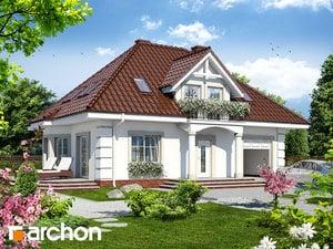 Projekt domu ARCHON+ Dom medzi aksamietnicami ver.2