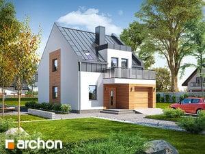 Projekt domu ARCHON+ Dom pod agávami 2 ver.2