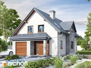 Projekt domu ARCHON+ Dom medzi fuksiami ver.2