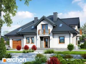 Projekt domu ARCHON+ Dom v hyacintovcoch ver.2