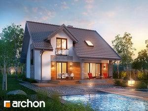 Projekt domu ARCHON+ Dom vo filodendrónoch 3