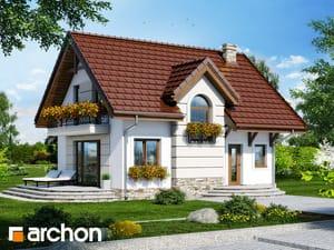 Projekt domu ARCHON+ Dom pri sladkom drievku 4 ver.2