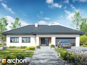 Projekt domu ARCHON+ Dom v jonagoldách 7 (G2)