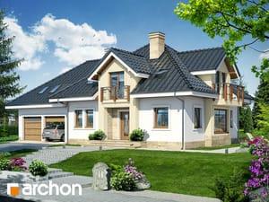 Projekt domu ARCHON+ Dom v hyacintovcoch (G2) Termo