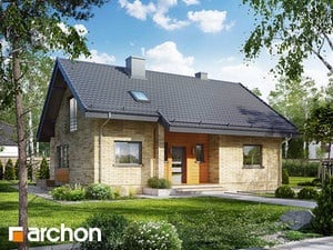 Projekt domu ARCHON+ Dom pod lipou 2 (P)