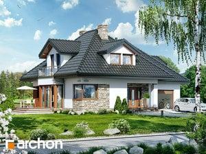 Projekt domu ARCHON+ Dom medzi černuškou 2 ver.2