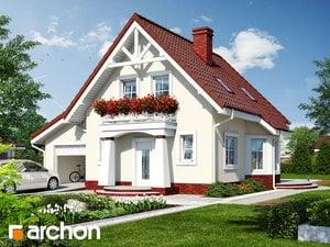 Projekt domu ARCHON+ Dom uprostred hrozna (G) ver.2