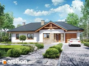 Projekt domu ARCHON+ Dom v nerinkách 6
