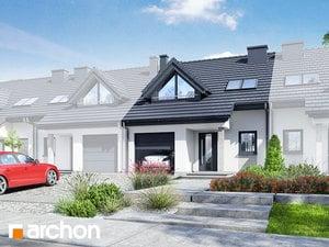 Projekt domu ARCHON+ Dom v plamienkoch ver.3