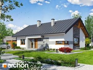 Projekt domu ARCHON+ Dom pod jarabinou 8 (G2N)