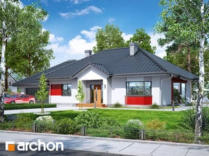 Projekt domu ARCHON+ Dom medzi gauramai (G2N)