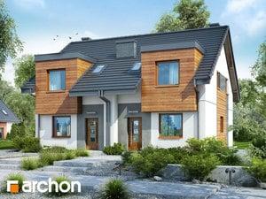 Projekt domu ARCHON+ Dom pod ginkom 10 (R2)